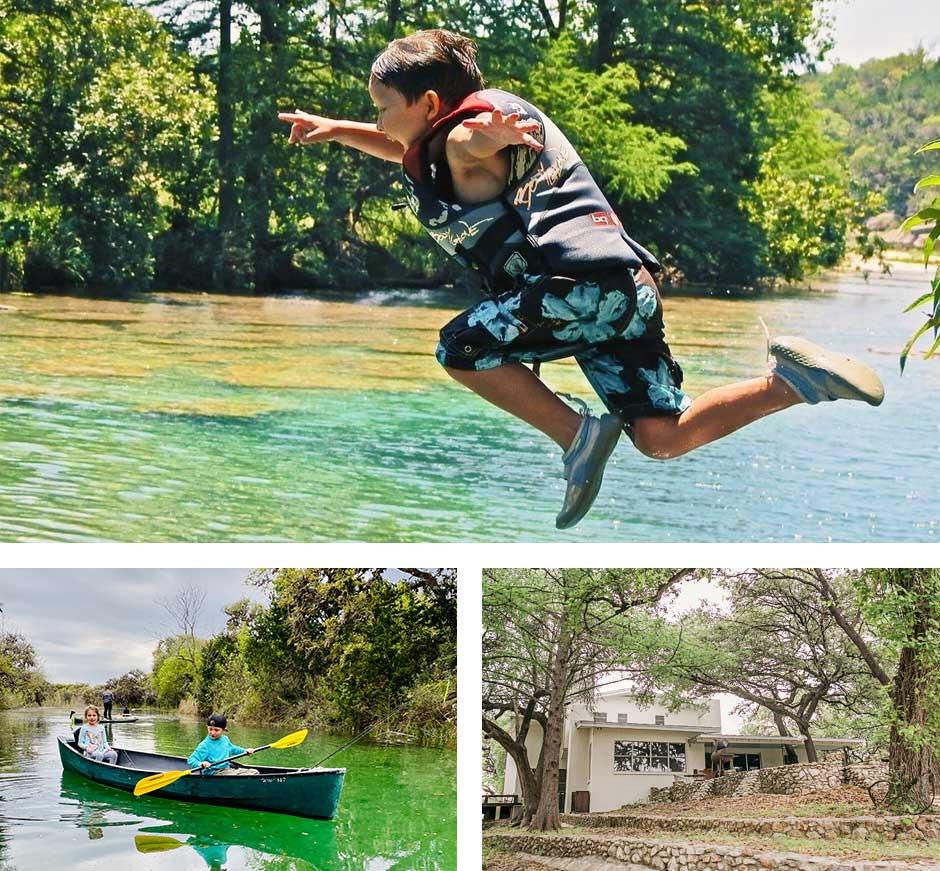 Frio River Cabins texas getaway